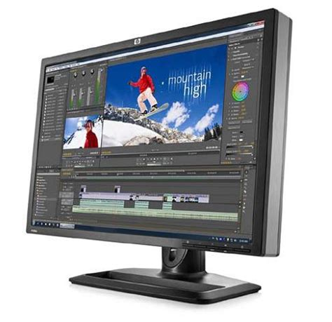 Monitor Hp Zr22w hp zr22w and zr24w with ips coming flatpanelshd