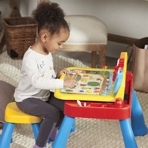 vtech touch and learn activity desk deluxe pink expandable three in one touch learn activity desk