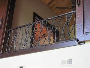 Banister Gate Custom Made Branch Railing By Hellgate Forge Custommade Com