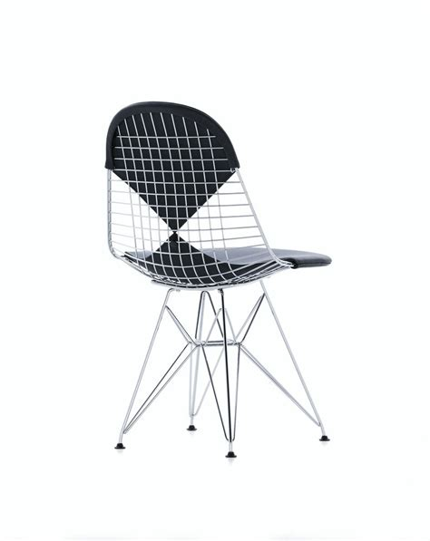Wire Desk Chair by Wire Chair Eames Office