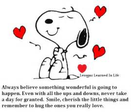 snoopy thinking of you quotes. quotesgram