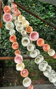 garlands for wedding paper flower wedding garlands bitsy