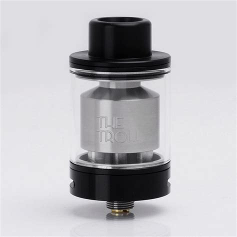 Authnentic Troll Rta Replacement Glass Authentic Wotofo The Troll Rta Black 5ml 24mm Rebuildable