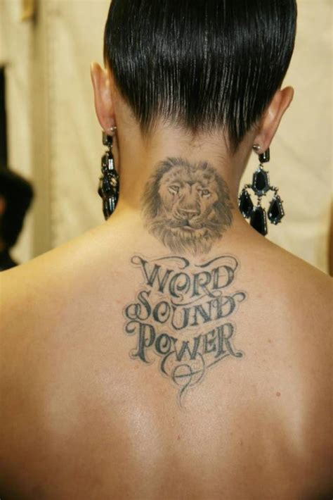 tattoo lion neck 33 impressive lion neck tattoos