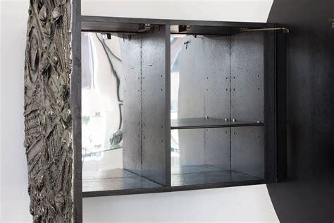 wall mounted bar cabinets adrian pearsall brutalist wall mount bar cabinet at