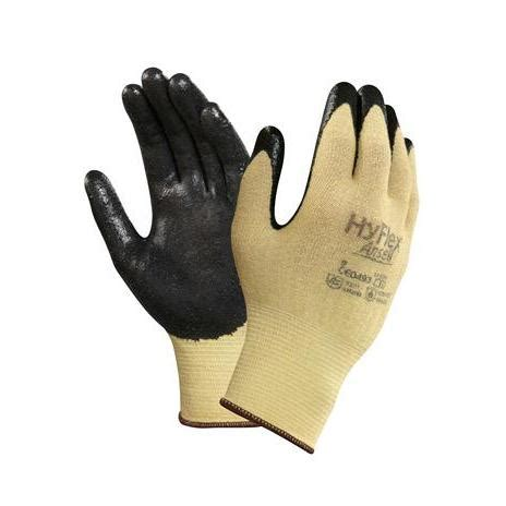 Sarung Tangan Ansell Hyflex 11 724 ansell hyflex 11 500 gloves nitrile coated kevlar knit