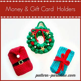 How To Check How Much Money A Gift Card Has - ravelry money gift card holders pattern by maria bittner