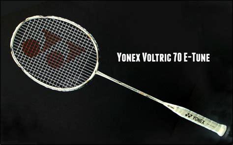 Raket Yonex Voltric 70 Etune yonex voltric 70 e tune badminton racket review