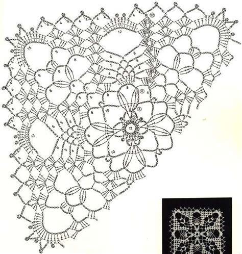Вязание квадрата крючком схема