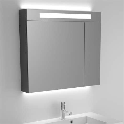 spiegelschrank 80 cm riho spiegelschrank mit integrierter beleuchtung 80 cm