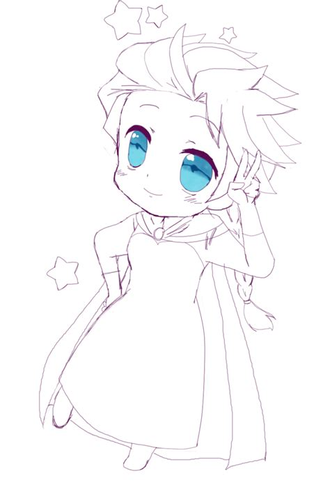 chibi elsa sketch by shizuru1412 on deviantart