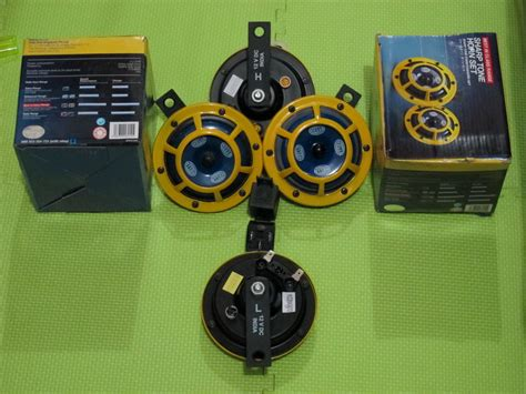 Special Klakson Hella Compact Horn Set Disk Mobil Motor klakson motor harga promo update