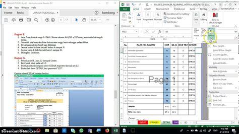 tutorial excel dasar tutorial pengerjaan tugas 6 kelas excel dasar di maluku