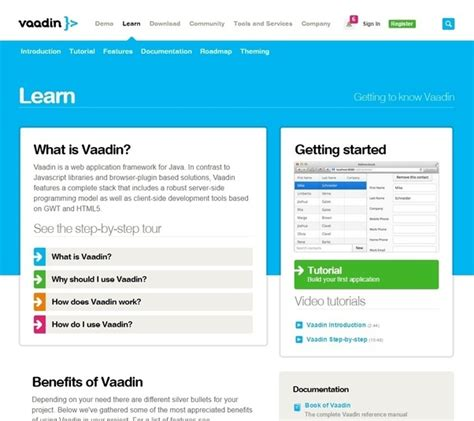 vaadin layout youtube where can i find a good video tutorial site for vaadin ui