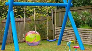 how to make swings how to make a kids swing https au lifestyle yahoo com