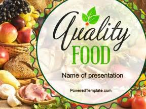 food powerpoint templates free quality food powerpoint template by poweredtemplate