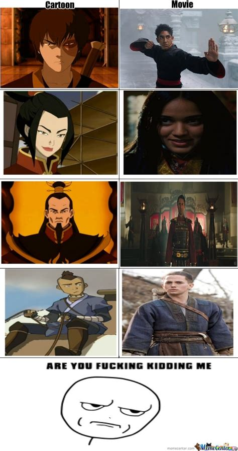Avatar The Last Airbender Memes - avatar movie fail by galion meme center