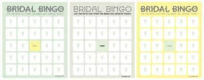 free bridal bingo template bridal bingo template cyberuse