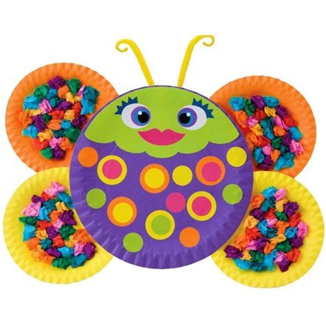 paper plate bugs craft kit educational toys planet