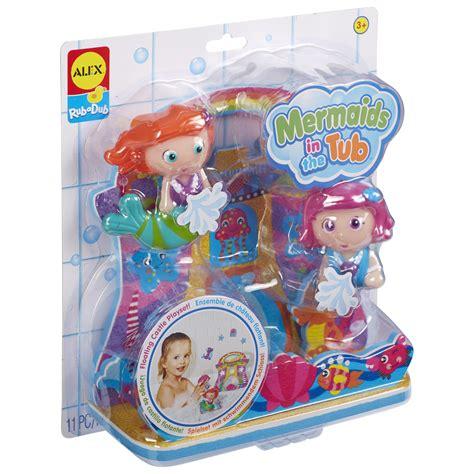 mermaid bathtub toy alex toys rub a dub mermaids in the tub alexbrands com