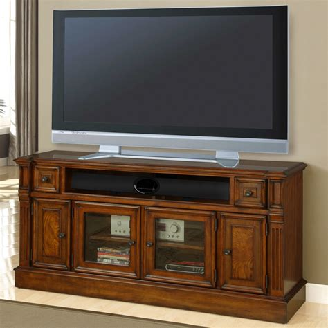 "Parker House TOS#62 Toscano 62"" TV Stand in Antique"