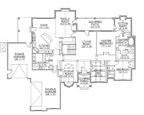 rambler home plans shingle house plan with 4790 square feet and 4 bedrooms