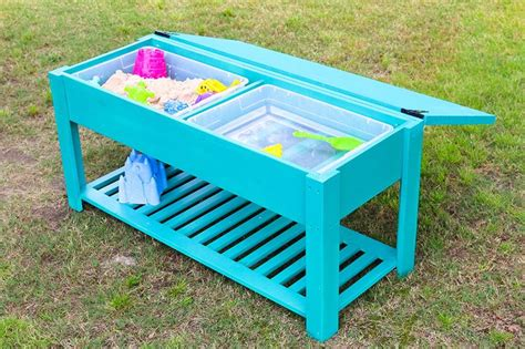how to build a sand table how to make a sand and water table water tables and
