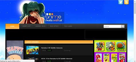 daftar rekomendasi situs  anime subtitle indonesia