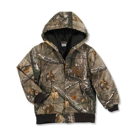 Carhartt boys realtree camouflage active jacket
