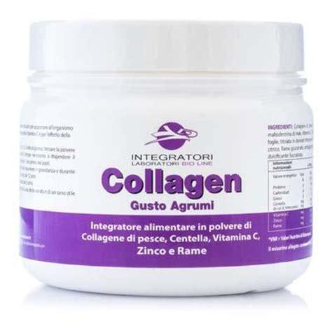 alimenti collagene integratore collagene di pesce idrolizzato centella e
