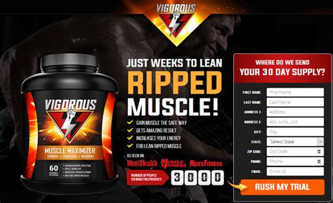 Vigorous Muscle Maximizer: Get Ripped & Strong Muscles
