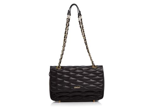 Dkny Quilted dkny gansevoort quilted nappa flap pocket shoulder bag in