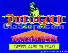 pot o gold touchscreen multi game board great lakes