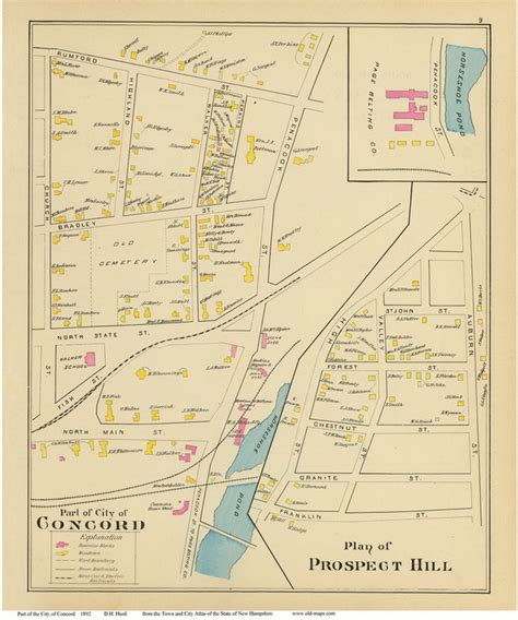 concord nh map concord nh road map choice image diagram writing sle