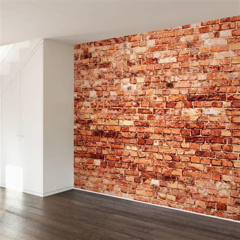 brick exterior wall mural decal contemporary wall decals