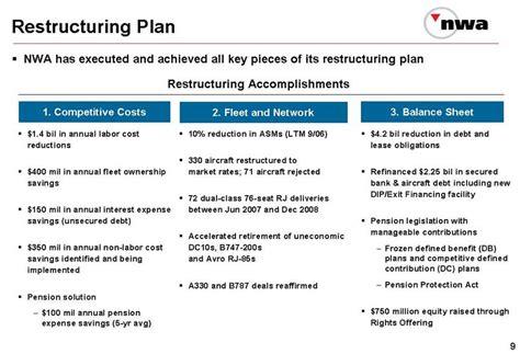 restructuring plan