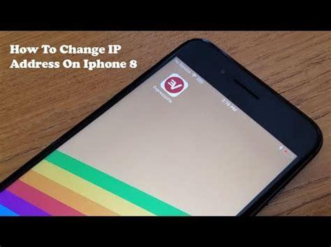how to change ip address on iphone 8 iphone 8 plus fliptroniks