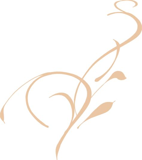 Swirl L by Swirl Clip Vector Royalty Free