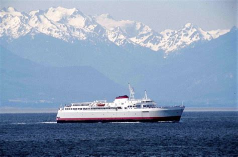 Car Ferry From Port Angeles To by Mv Coho Ferry Out Of Service For Two Weeks For Annual