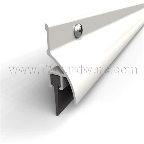 Exterior Door Drip Edge Drip Neoprene Door Bottom Fitted With A Solid Neoprene Seal This Seal Provides Smoke
