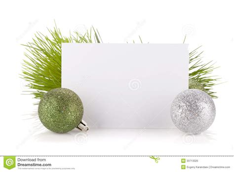 empty gift card and christmas decor royalty free stock photo image 33713325 - Empty Gift Cards
