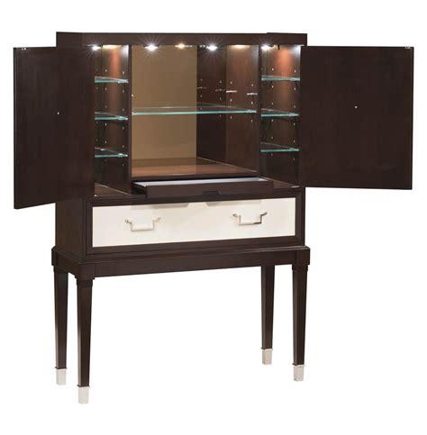 Espresso Bar Cabinet Regency Espresso White Bar Cabinet Kathy Kuo Home