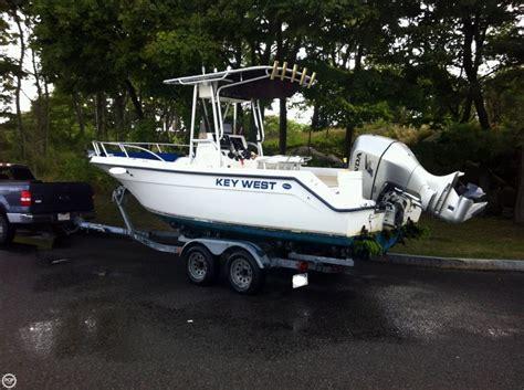 key west jon boat 2000 used key west 2220 cc center console fishing boat for