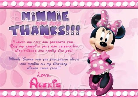 Page Plus Minnie Mouse Greeting Card Template by 10 Best Images About Minnie Mouse Birthday On