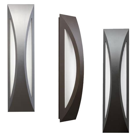 Led Exterior Lighting Fixtures Kichler 49437 Cesya Modern 24 Quot Led Exterior Wall Lighting Fixture Kic 49437