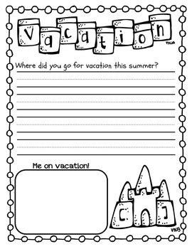 summer writing handwriting packet kindergarten