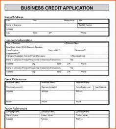 Business Account Application Form Template 6 Credit Application Form For Customers Event Planning