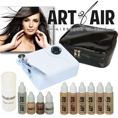 Makeup Cases Makeup Artist Supplies Makeup Kits Airbrush   art of air professional airbrush cosmetic makeup kit