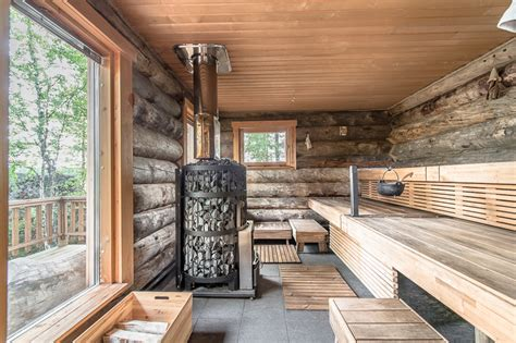 sauna cabin luxury log cabin in finland of homes