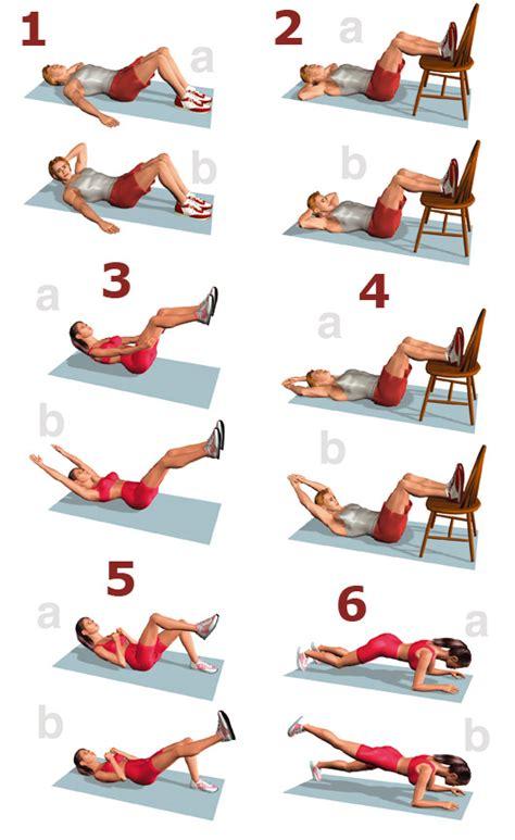 como hacer bien abdominales en casa ejercicios de tonificaci 243 n para ponernos en forma en casa
